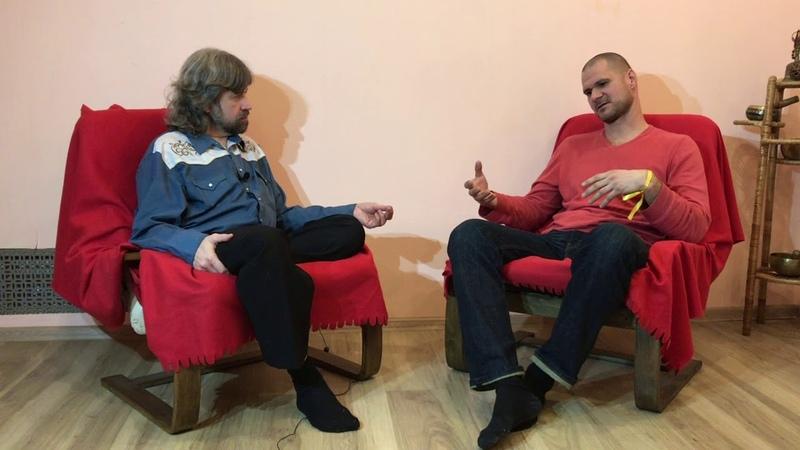 Игумен Евмений и Денис Панков Интервью SFBP 4409
