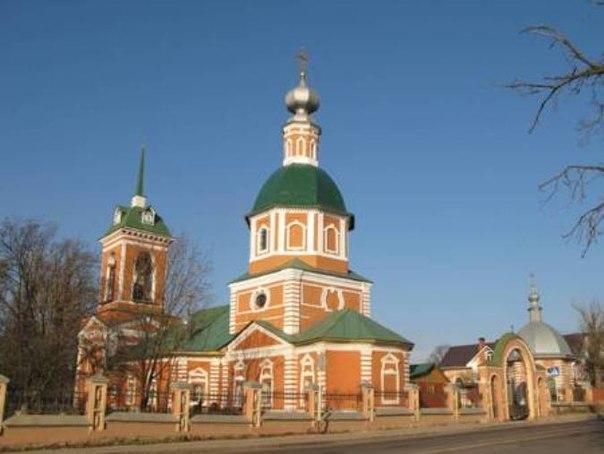 Церковь Рождества Христова в с. Иудино