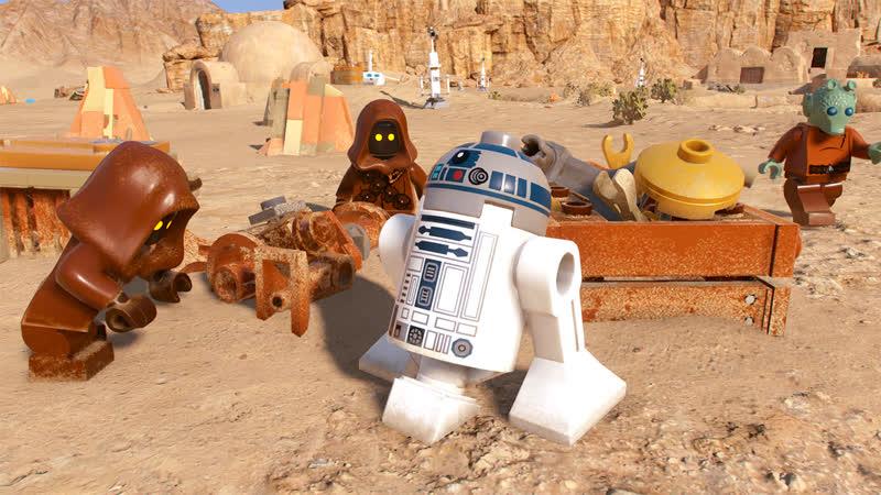 Lego star wars the skywalker saga E3 demo