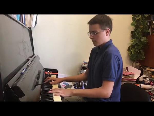 Прелюдия для фортепиано играет автор Дмитрий Майоров