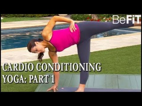 Cardio Conditioning Yoga Part 1 Element- Alanna Zabel