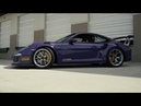 BBS FI-R Wheels on Ultra Violet Porsche GT3 RS