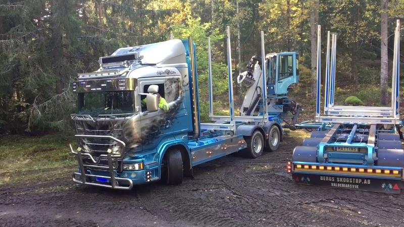 Scania R730 Timmerbil knytkalas,Drive V8 or die...