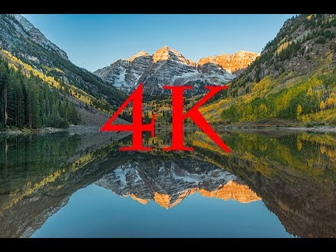Colorado Fall Colors Cinematic 4k Aerial Drone, movie with music