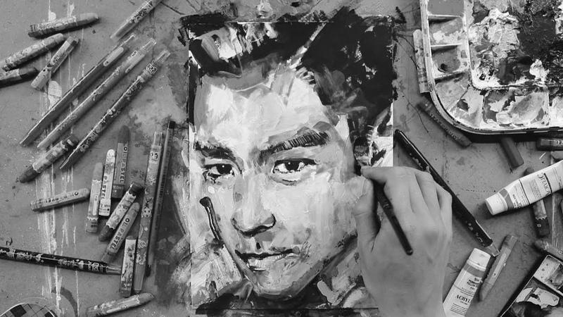 빅뱅 탑 그리는 방법 How to draw BIGBANG T.O.P