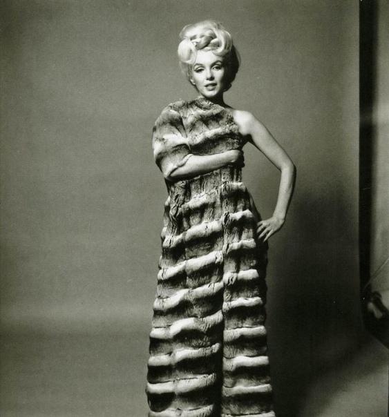 Последняя фотосессия Мэрилин Монро для Vogue в 1962 году. Автор: Берт Штерн