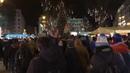 Протесты против рабского законодательства в Будапеште Венгрия