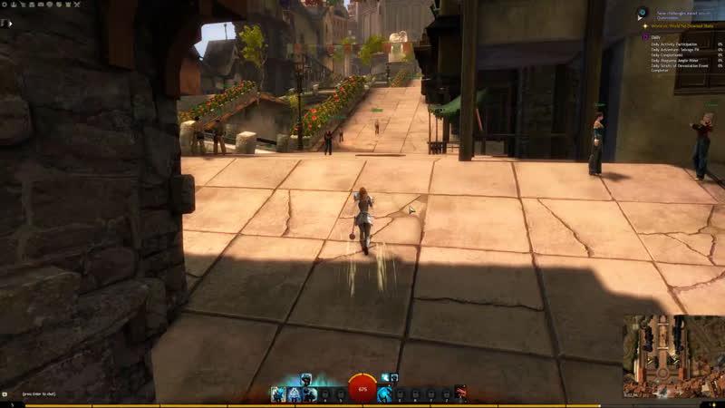 Guild Wars 2 RU Пытаюсь вернуться в игру Начало нубской жизни
