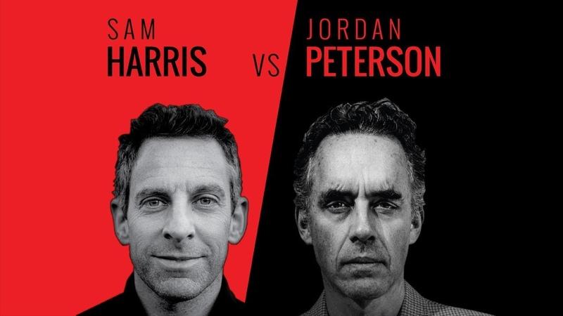 Sam Harris Jordan Peterson - Vancouver - 1