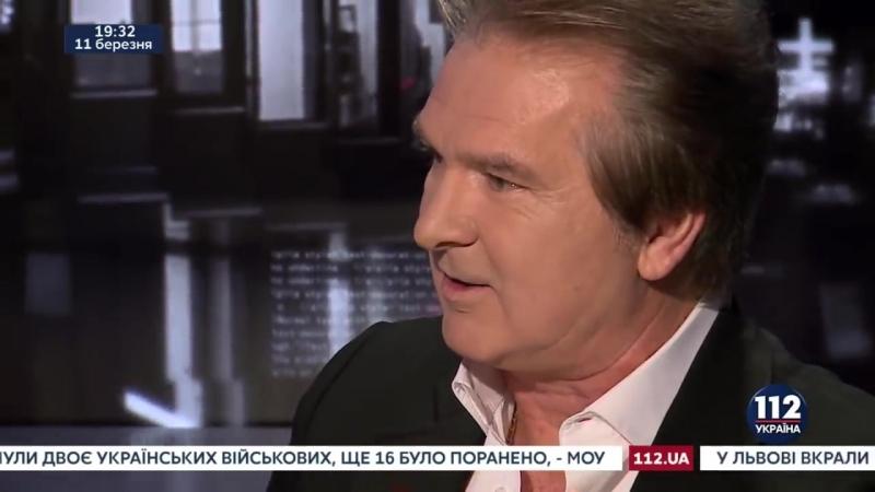 Юрий Швец, сокурсник Путина, экс-разведчик КГБ СССР, в программе Гордон. Выпуск