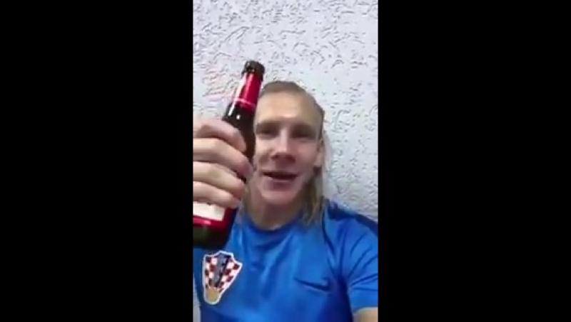 Футболист Хорватии Домаго Вида злостно проигнорировал предуп-1