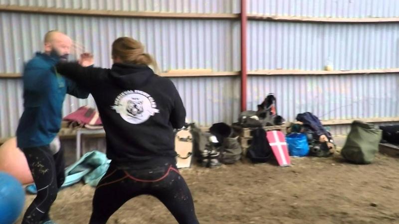Sorø træning - Buhurt training 31-01-2016 part 1.