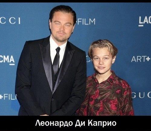 Интересный проект: актеры сами с собой молодыми.