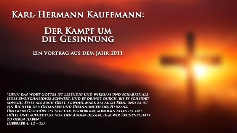 K.-H. Kauffmann: Der Kampf um die Gesinnung