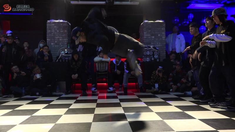 FUSION MC vs ZEALOT TV|Crew Top8 @ KOREA BATTLE PRO 2019|LB-PIX
