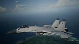 Ace Combat 7 Skies Unknown - Su-33 Unlock Erusia White SkinPs4
