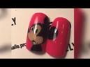 Мультяшный дизайн ногтей - Микки Маус | Роспись гель-лаками Lovely