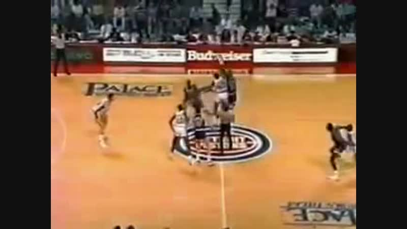 NBA Playoffs 1990 Eastern NY Knicks - Detroit Pistons Game 2 (RU)