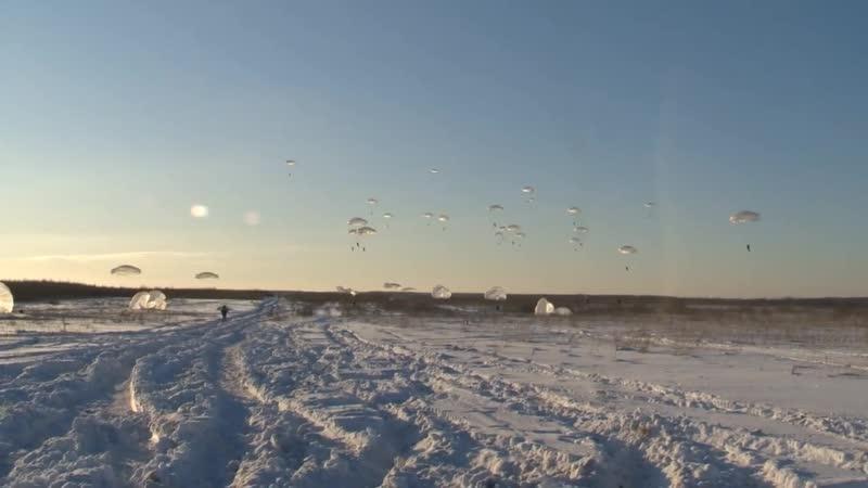 В ходе первых в 2019 году в ВДВ тактических учений подразделения ВДВ захватили аэродром условного противника