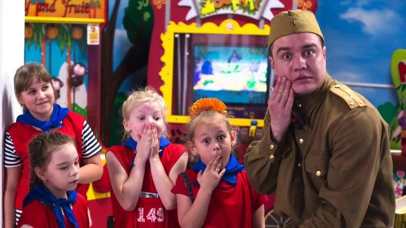 ТАЧКИ ГРАД представляет военную тематику Дня рождения!