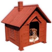Мы приняли решение изготавливать (желательно из материала заказчика) будки для собак в частных секторах...