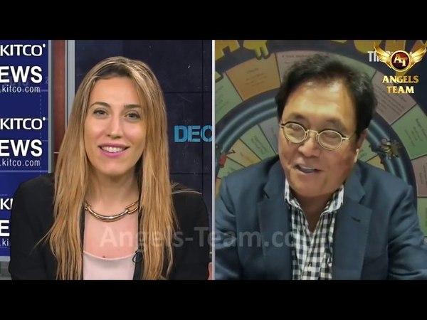 Роберт Кийосаки о золоте, фиатных деньгах и окриптовалюте