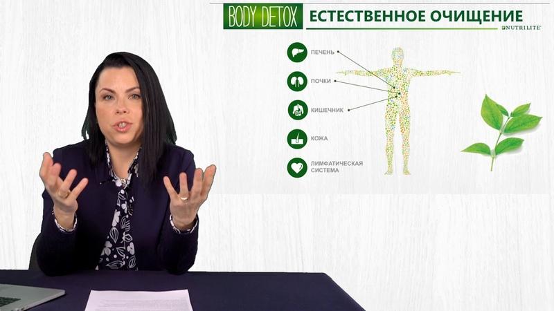 Вебинар. Body Detox от NutriliteTM «Избавься от лишнего за 3 недели!»