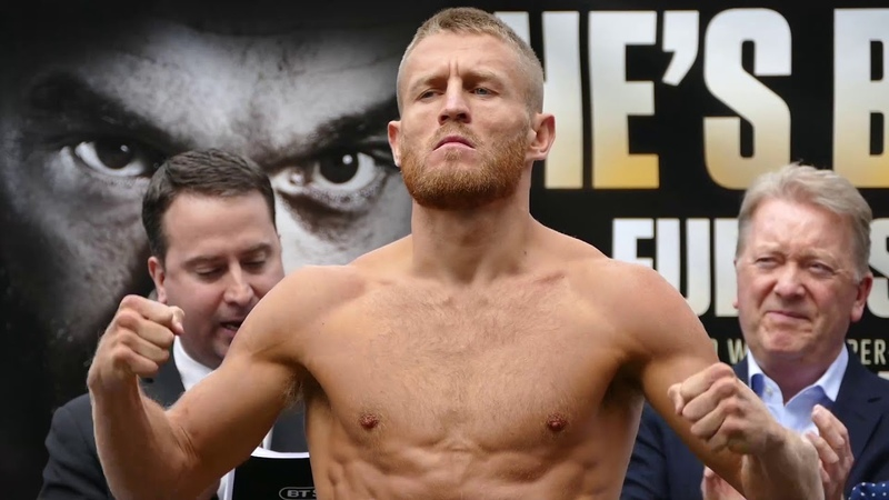 Terry Flanagan vs Maurice Turner WEIGH IN FINALFACE OFF | Tyson Fury vs. Sefer Seferi Undercard
