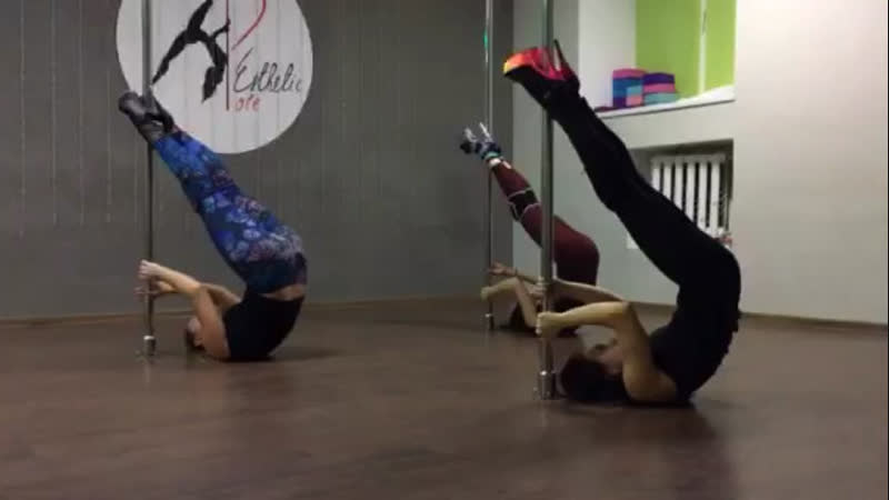 Тренировка Exotic Pole Dance. ( Esthetic_Pole)