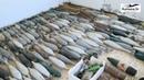 Оружейная добыча в Хомсе тайник с сюрпризами боевиков попал на видео