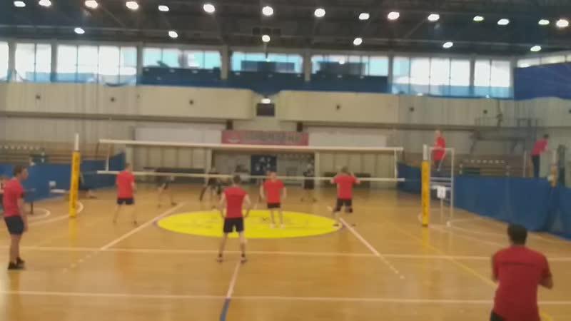 Первенство Калининградской железной дороги по волейболу