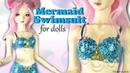 How to: Mermaid Bikini / Swimsuit - Doll Tutorial