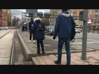 Наземным транспортом от Ховрино до Алма-Атинской. Разрушители легенд. # 10