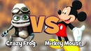 Crazy Frog Axel F VS Mickey Mouse