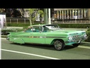 Lowriders Hoppin and tipping all night long
