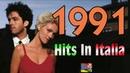 1991 - Tutti i più grandi successi musicali in Italia