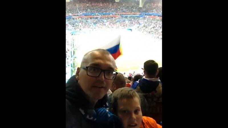 Россия:Египет победа 3:1