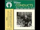 Bruno Walter Wiener Philharmoniker - Gustav Mahler Das Lied von der Erde 1936