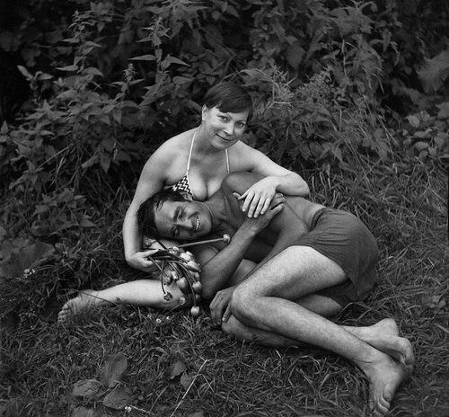 Голые русские времен ссср черно белое фото 87580 фотография