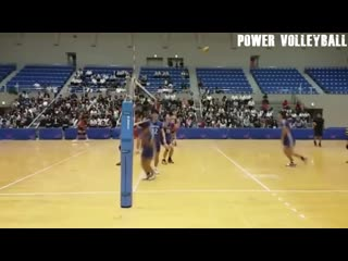 The most powerful volleyball 3rd meter spikes (hd) #2