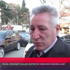 """AzadliqRadiosu on Instagram: """"Bakıda sorğu: Sizcə, hökumət xalqın rəyini nə dərəcədə nəzərə alır? Siz də öz fikirlərinizi yazın."""