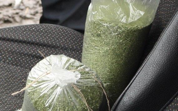 Под Таганрогом сотрудники ГИБДД задержали мужчину, перевозившего наркотики в особо крупном размере