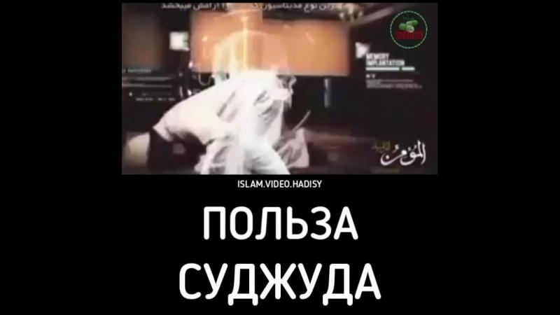 Физическая польза от саджды)