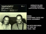 HORACE SILVER EDDIE HARRIS - SPIRITUALIZING THE SENSES - FULL ALBUM