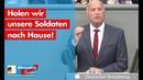 Rüdiger Lucassen: Holen wir unsere Soldaten nach Hause! - AfD-Fraktion im Bundestag