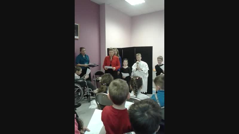Рождественский Праздник, воскресная школа при храме св. Иоанна Русского