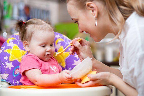 Конкурсы на кашу с новорожденным