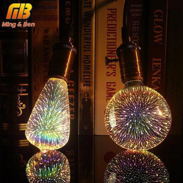 Светодиодная 3D лампы 1733 отзыва
