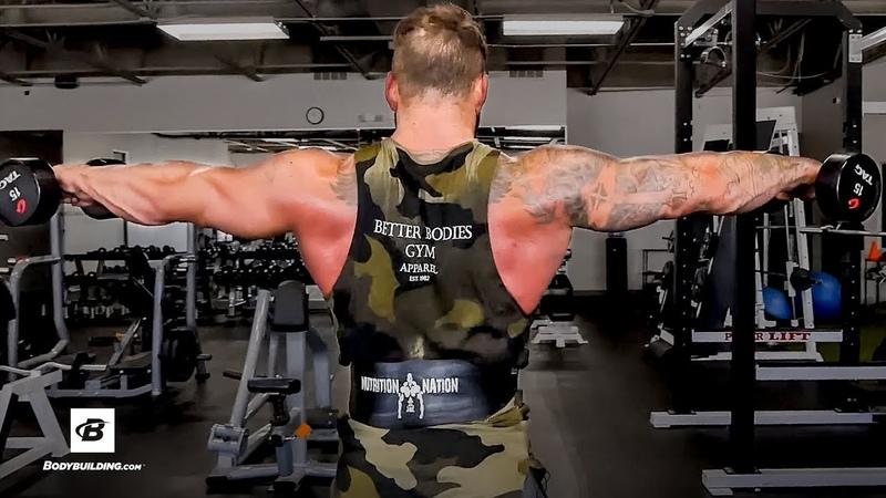 V Taper Back Shoulder Workout Chase Bergner Better Bodies