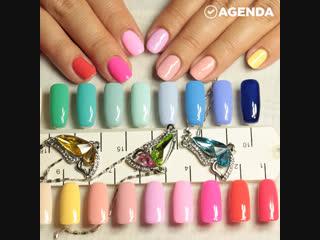 Как выбрать цвет лака под форму ногтей